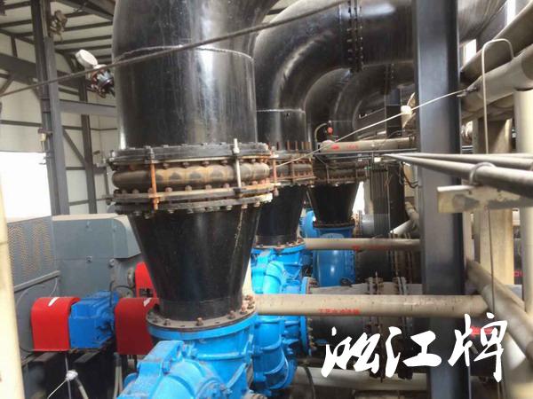 *电菏泽电厂采用淞江脱硫橡胶接头