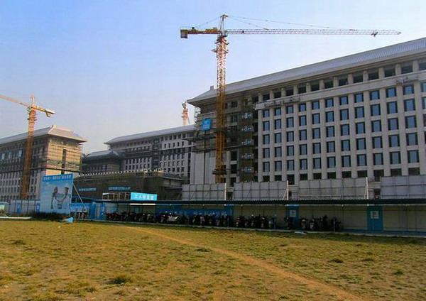 【合肥滨湖中心省.办公大楼项目】采用淞江橡胶接头