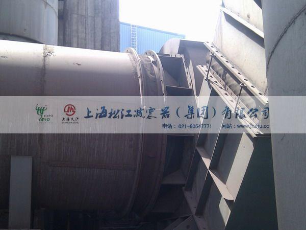 【淄博钢厂项目】采用上海淞江风道补偿器