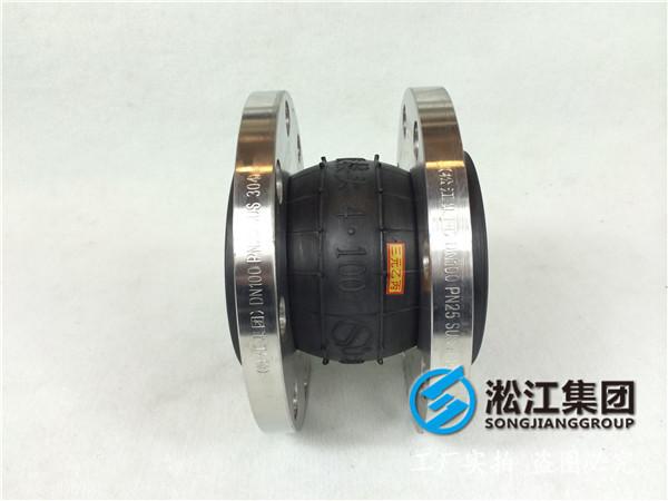 冷镀锌法兰DN250橡胶避震喉,选型很重要