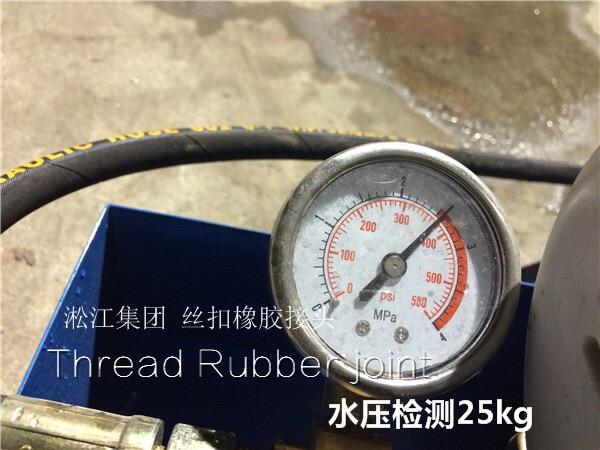 丝扣橡胶避震喉,DN40的价格多少钱