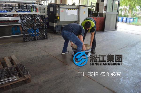橡胶不锈钢法兰橡胶接头  DN150   SUS304   2.5Mpa 2台