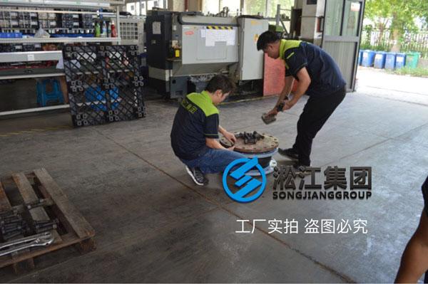 EPDM软接头,碳钢烤漆法兰,PN16,DN80-1个